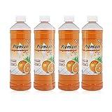 4 x 1 Liter Premium Orangenreiniger Konzentrat, Orangenreiniger entfernt sogar hartnäckigste Verschmutzungen.