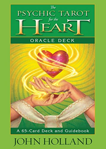 The Psychic Tarot for the Heart Oracle Deck: A 65-Card Deck and Guidebook (Black Tarot-karten)