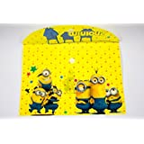 ShopKooky Minion Cartoon Printed Folder For Kids (Pack Of 12) | Designer And Attractive | Perfect For Gifting And Parties Return Gifts For Kids Birthday In Bulk