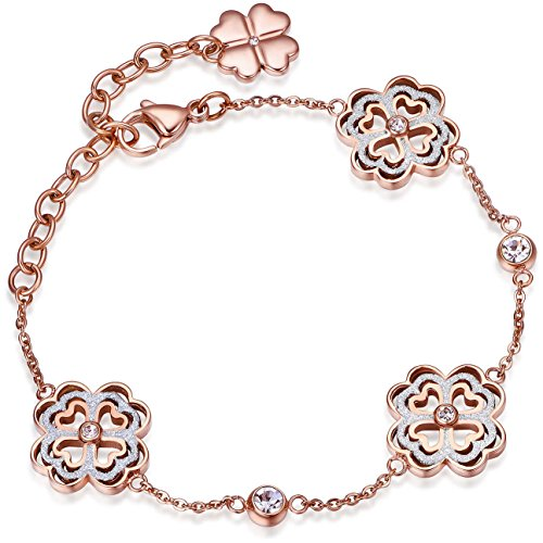 luca-barra-de-pulsera-en-oro-con-corazones-y-hoja-de-suerte-de-cristales-italiano-joyas-bk1358-regal