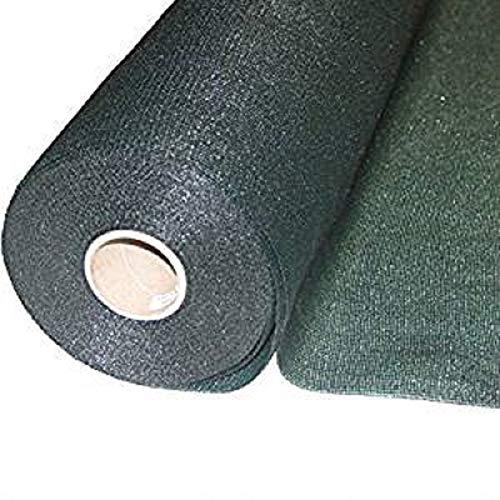 Italfrom Rouleau de bâche d'ombrage, brise vue, verte, différentes mesures, pour grillage H200cmX25m