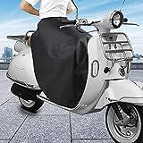 Further Copertura per Scooter Protezione Invernale per Moto Impermeabile Resistente alle Intemperie Copertura per Moto Protezione per Gambe Scooter Plus Ginocchiere Spesse Calde in Velluto Compatible