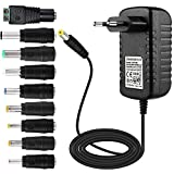 EFISH Adaptateur Secteur Portable Portable 12V 1A 12W,CA 100-240V à 12V pour...