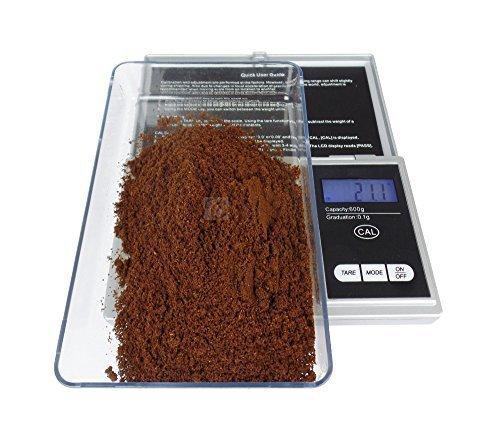 Balanza Digital para Café Espresso - 600g x 0,1 gr