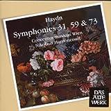 Symphonies nos 31, 59 et 73