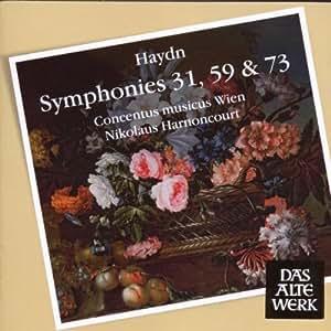 Sinfonien 31,59 & 73