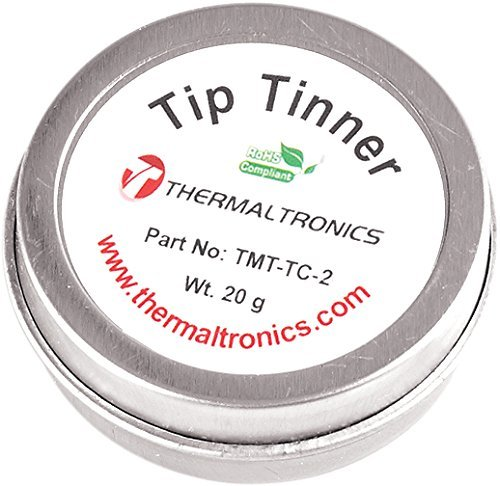 Preisvergleich Produktbild Thermaltronics TMT-TC-2 Lead Free Tip Tinner (20g) in 0.8oz Container by Thermaltronics