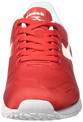 Diadora Titan Fly, Pompes à plateforme plate mixte adulte Rouge - Rosso (45030 Tomato Red)