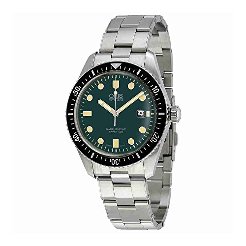 Oris Divers Green Automatic orologio 01 733 7720 4057 – 07 8 21 18