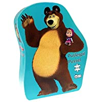 Barbo Toys Barbo Toys7608 Masha and The Bear Deco Puzzle