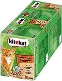 Kitekat Katzenfutter Nassfutter Adult für erwachsene Katzen Jagdschmaus in Sauce