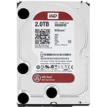 """WD Red - Disco duro para dispositivos NAS de sobremesa de 2 TB (Intellipower, SATA a 6 Gb/s, 64 MB de caché, 3,5"""") rojo"""