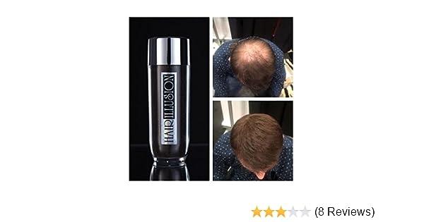 5e25c2a7078a62 Hair Illusion: Premium Haarausfall Abdeck-Pulver, für Männer und Frauen,  100% echtes Haar, 38g, Braun: Amazon.de: Beauty