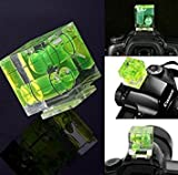 Nalmatoionme Pro Three Axis Bubble Spirit Level Hot Shoe Adapter For Canon Nikon Cameras(Green)