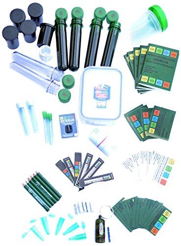GEO-VERSAND 41 Teile Geocaching Behälter Paket Set - Lock&lock Verstecke, mehrfarbig, 11149