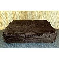Zippy Bean Bag Pet Dog Bed - Extra Large - Brown Jumbo Cord Fabric