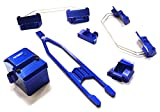 Integy Hobby RC Model C26522BLUE Billet Machined Stage 2 Conversion Kit for Traxxas 1/10 Slash 4X4 LCG