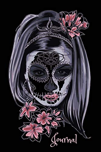 Art Style Skull Writing Diary for Keeping Goals, Dreams and Thoughts for Women, Girls and Teens ()