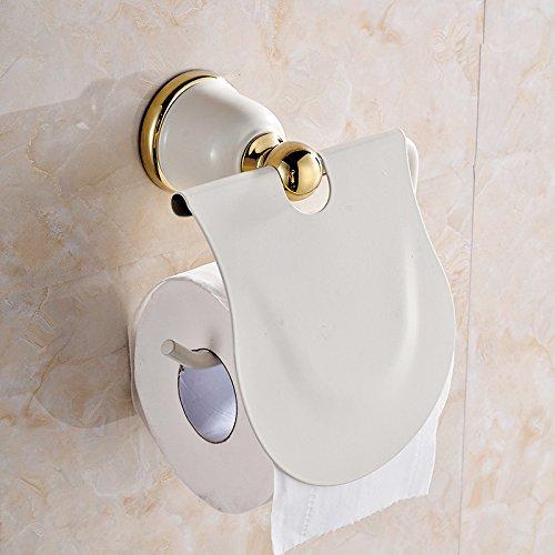 3 Schicht Garnitur Papierhalter Toilettenbürste Ständer Klobürste Rollenhalter#D