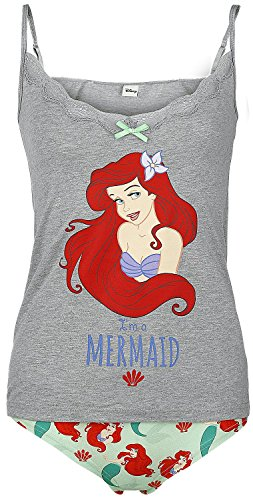 The Little Mermaid I'm A Mermaid Intimo donna grigio/allover XS