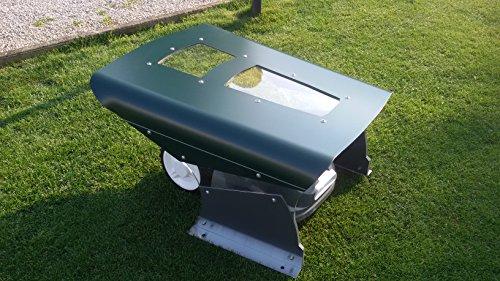 Mähroboter Garage Solar Dach Carport Automower