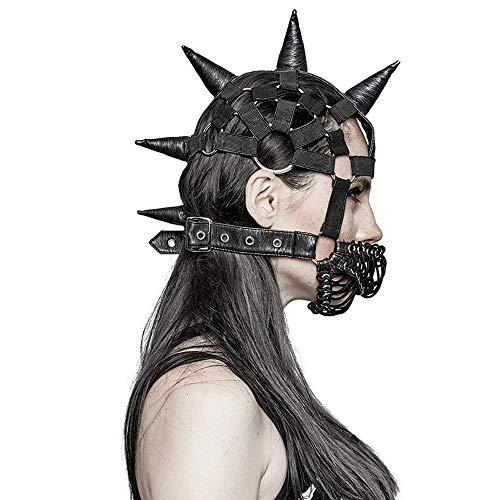 Máscara Steampunk Negra, Mascarada Steampunk, Cráneo Máscara De Steampunk, Máscara del Gato De Steampunk, Mascarada De La Máscara De Cuero Negro, Ropa De Cuero Cubierta De La Máscara De La Mascarada