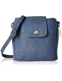Lino Perros Women's Sling Bag (Blue) - B076H7TSV7