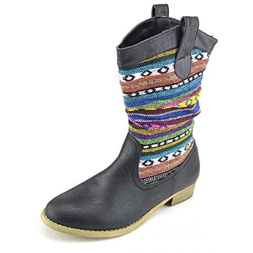 Kick scarpe da donna pinzhi stivali Multicolore (Multicolore)