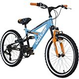 20 Zoll Kinder Mountainbike Concept Outlaw Fully Kinderfahrrad Vollgefedert