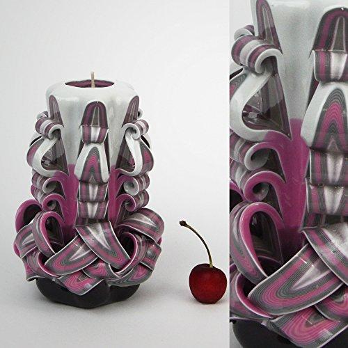 Geschnitzte Kerze Handgefertigte Dekorative Multicolor Geschenk Décor - EveCandles
