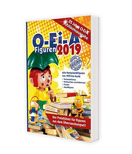 Buchseite und Rezensionen zu 'O-Ei-A Figuren 2019 - 25 Jahre O-Ei-A - Jubiläumsausgabe: Das Original - Der Preisführer für Figuren aus dem Überraschungsei!' von Feiler André