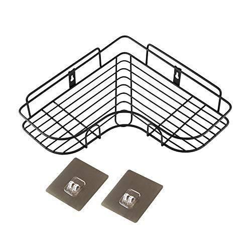 JKZX Badezimmer Eckregal und Dusche Caddy Basket SUS304 Edelstahl Dreieckige Badewanne Wandhalterung poliertem Finish