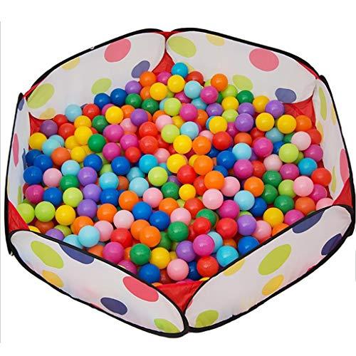 LXLX Playpens Jungen Bällebad Kleinkind spielen Zelt Sea Ball Pool Indoor Outdoor Kinder Sicherheit spielen Center Hof (größe : 400 balls)