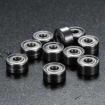 10x 692ZZ 2x6x3mm Man Friday métallique étanche blindé miniature Mini Roulements à billes