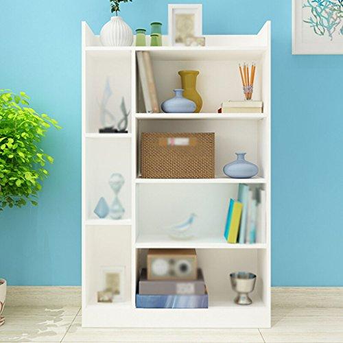 DFHHG® Estantería, Estantería Aglomerado Blanco Naranja Baja Color durable ( Color : #2 )