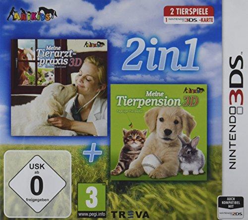 2 in 1: Meine Tierpension 3D: Tapsige Tierbabys + Meine Tierarztpraxis 3D: Einsatz auf dem Land