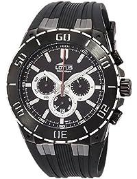 Lotus 15802 3 - Reloj cronógrafo de cuarzo para hombre con correa de caucho a46dba50c516