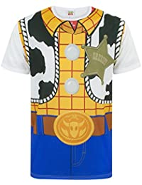 f94ec184761 Disney Toy Story Woody Costume Men s Character Outfit T-Shirt S - XXXL