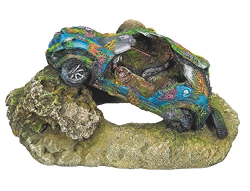 "Nobby 28500 Aquarium Dekoration Aqua Ornaments ""Auto"", 17.5 x 10.5 x 9 cm"