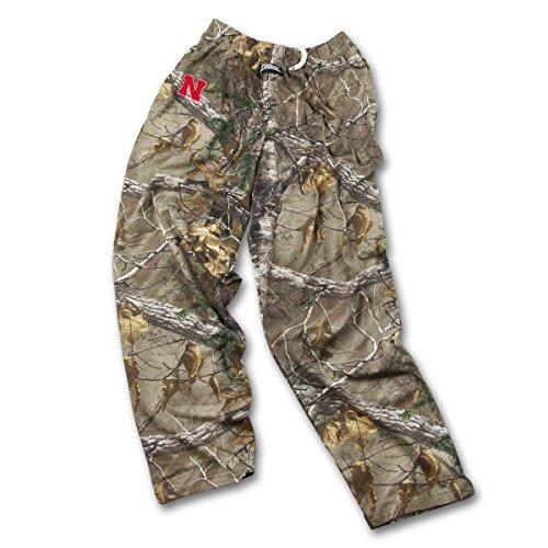 Realtree Camo-jagd-hosen (Zubaz Herren NCAA Realtree Xtra Camo Print Team Logo Casual Active Pants, Herren, Men's NCAA Realtree Xtra Camo Print Team Logo Casual Active Pants, Camouflage, Medium)
