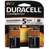 Procter & Gamble/Duracell MN1604B2Z 2-Pk. 9V Alkaline Batteries - Quantity 12