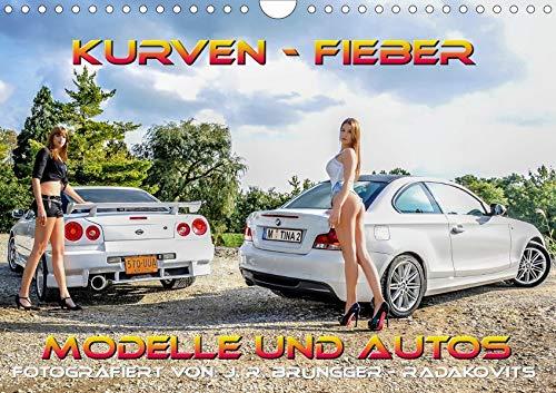 Kurven - Fieber - Modelle und Autos (Wandkalender 2020 DIN A4 quer)