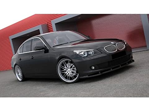 BMW 5 E60 / E61 Standard Bumper Front Splitter Lip Spoiler Extension 2007-2010