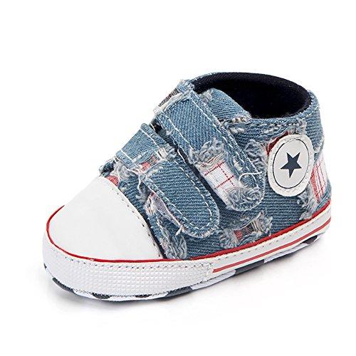 Babycute Kleinkind Schuhe Baby Junge Mädchen Weiche Sohle Leinwand Sneaker
