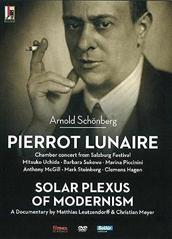 Schoenberg: Pierrot Lunaire + Solar Plexus of Modernism: A Documentary by Matthias Leutzendorff (Region 0)[DVD] by Mitsuko Uchida [piano]