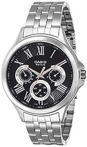 Casio Enticer Men's Analog Black Dial Men's Watch - MTP-E308D-1AVDF (A1049)