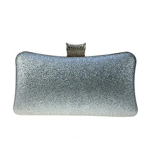 Diamond Abendessen Tasche Stück Raupe glitter Leder PU Tasche Handtasche Kette weiblichen Tasche Golden