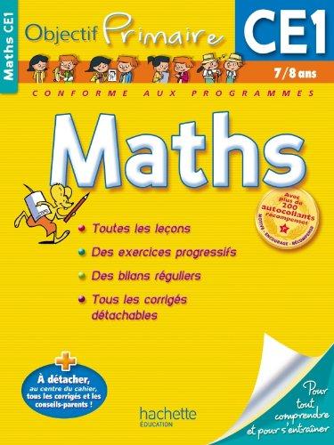OBJECTIF PRIMAIRE - Maths CE1 par Daniel Berlion