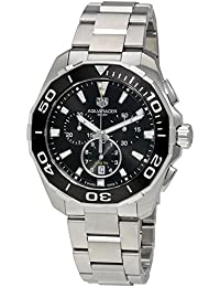 TAG Heuer Aquaracer Herren-Armbanduhr 43mm Armband Edelstahl + Gehäuse Saphirglas Batterie CAY111A.BA0927