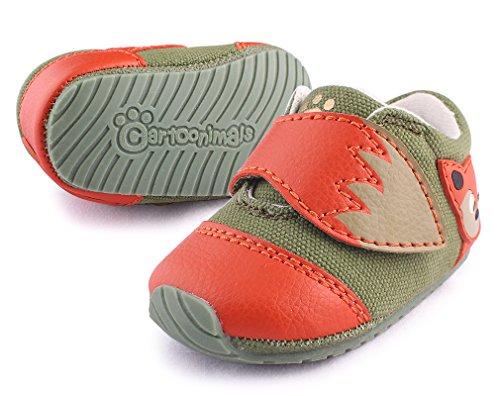 cartoonimals Baby Shoes Prewalker New Born Cribs Shoes Foxz